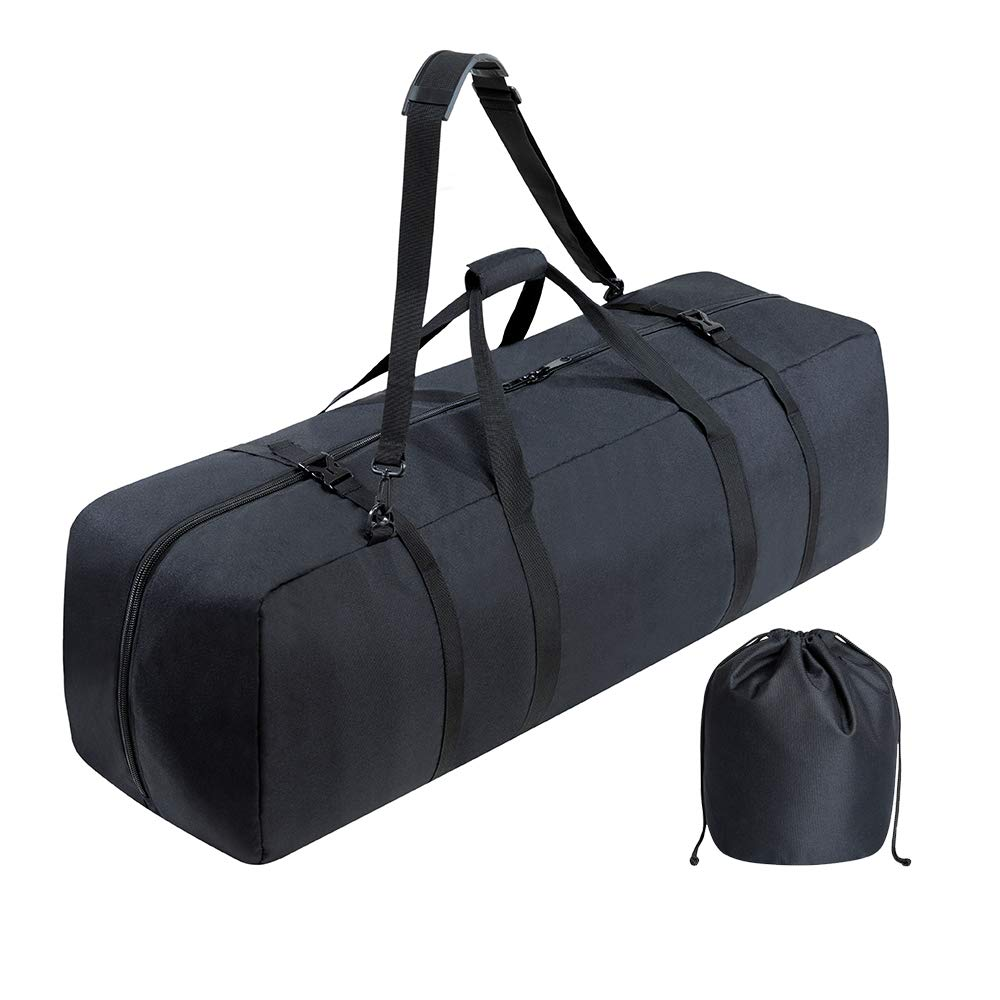 Multipurpose Telescope Bag - Shock-Absorbent Telescope Carrying Case with Adjustable Shoulder Strap and Extra Storage - Military-Grade, Water Repellent Camera Case by BagMate, 30.3x10.2x10.2 inch.