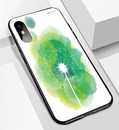 Amazon Com Iphone X Xs Ultra Thin Phone Case Dandelion