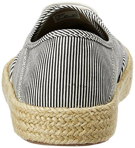 Vans WM Authentic ESP, Zapatillas Para Mujer Azul (Micro Stripes)