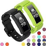 GVFM Compatibel met Fitbit Ace 2 Bands voor Kids 6+, Zachte Silicone Waterdichte Armband Accessoires Sport Strap Jongens Meisjes Polsbanden Compatibel voor Fitbit Ace 2