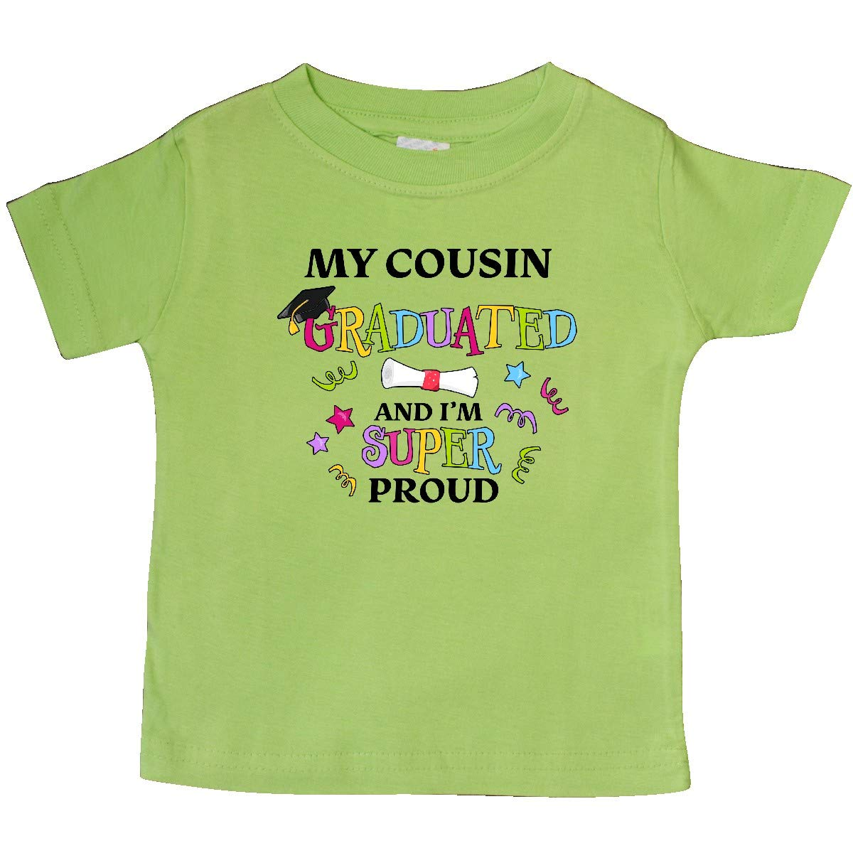 inktastic My Cousin Graduated and Im Super Proud Baby T-Shirt