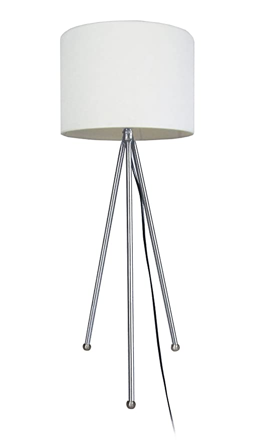 Tosel 60321 lámpara Tri pie acero 100 W E27: Amazon.es ...