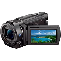 Sony Handycam FDR-AX33 4K Ultra HD SDXC/SDHC/SD Camcorder with 10x Optical Zoom & 3