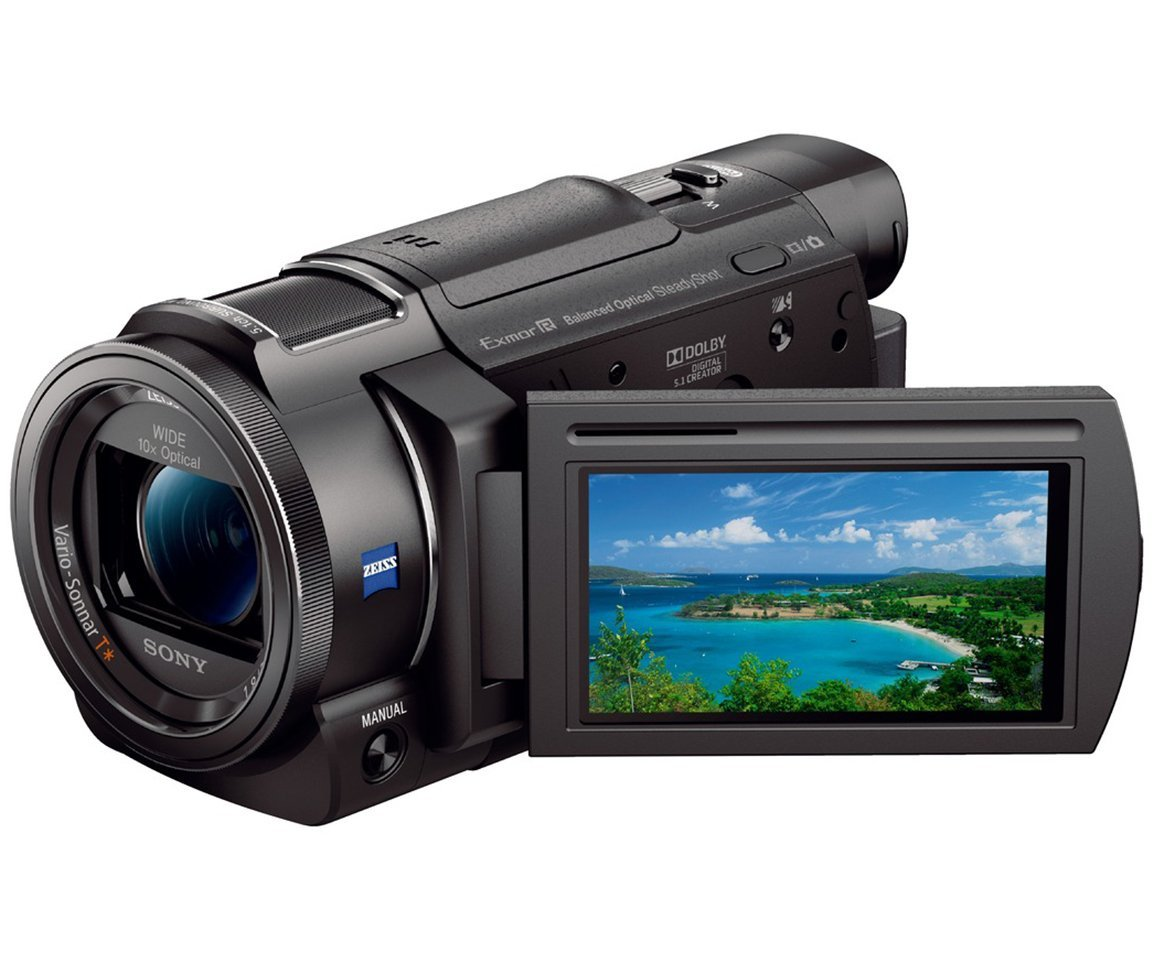 amazon com sony 4k hd video recording fdrax33 handycam camcorder rh amazon com Canon Professional Cameras Receivers Electronics