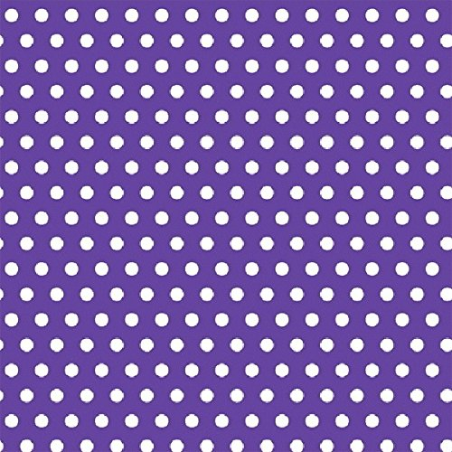 Amscan Classic Polka Dot Jumbo Gift Wrap, Purple, 16' x 30'' by Amscan