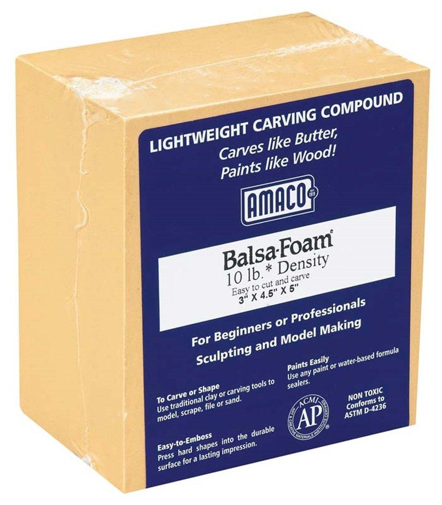 43009K Balsa Foam II 10 lb 3x4.5x5