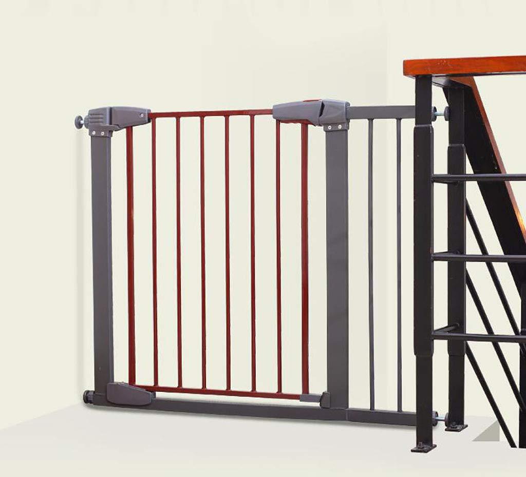 赤ちゃん ゲート 犬用のペットゲート、エクストラワイド室内セーフティゲート、プレッシャーマウントフィット階段または戸口77-86cm、イージーオープン、オートクローズ (サイズ さいず : 77-83cm) 77-83cm  B07MMH87GD