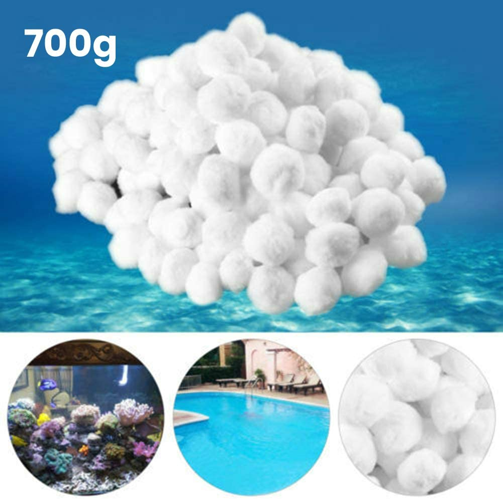 JoyFan Pool Filter Balls Eco-Friendly Fiber Filter Media Swimming Pool Sand Filters Replacement,Filtering Hairball Pool Filtration