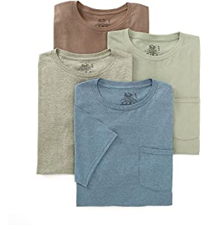 17f1e6fb88a66b Fruit of the Loom Men s Pocket T-Shirts 5-Pack Assorted Colors ...