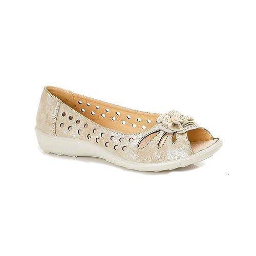 Boulevard - Mocasines de material sintético para mujer: Amazon.es: Zapatos y complementos