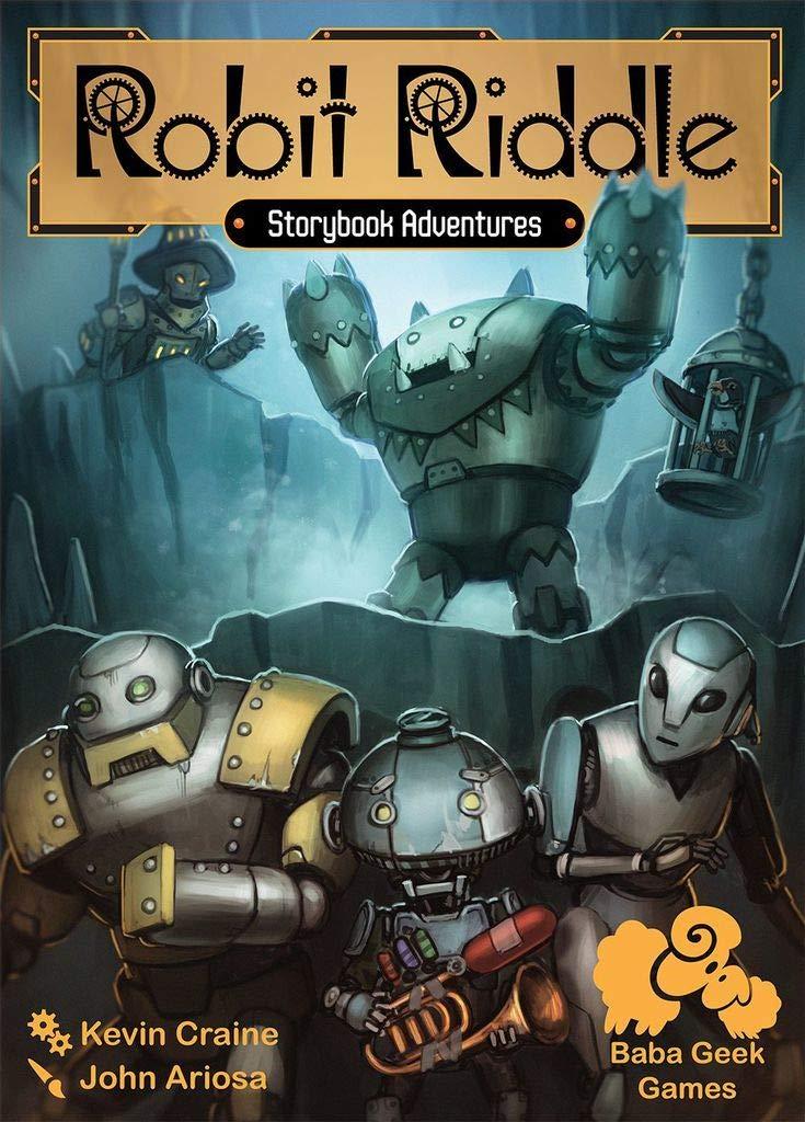Atlas Games ATGBGG01 Robit Riddle, Mehrfarbig Pegasus Spiele
