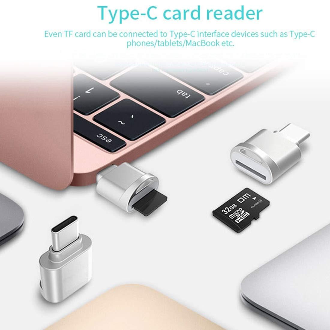 XINGRUI Moblie USB-C/Tipo C a Tarjeta Micro SD (Tarjeta TF ...