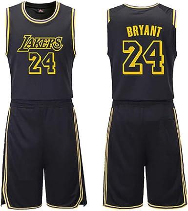 Hombres Kobe Bryant # 24 Ropa de Baloncesto Niños Niño Jersey ...