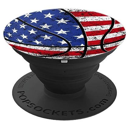 Amazon.com: PopSockets - Figura decorativa de baloncesto con ...