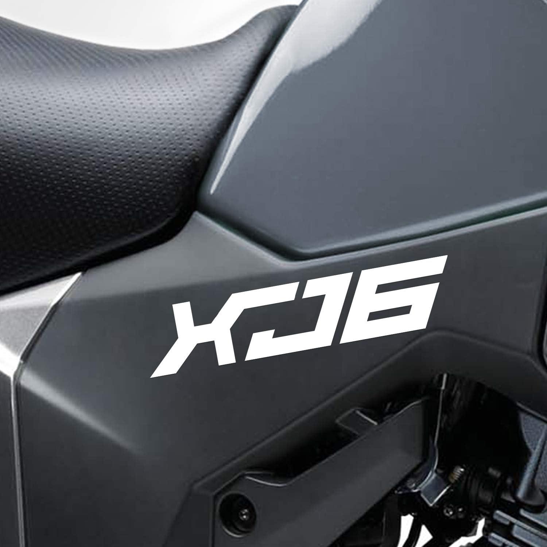 Bleu R/éfl/échissant Moto Superbike Autocollant D/écalcomanies Pack Imperm/éable Haute Qualit/é pour Yamaha XJ6