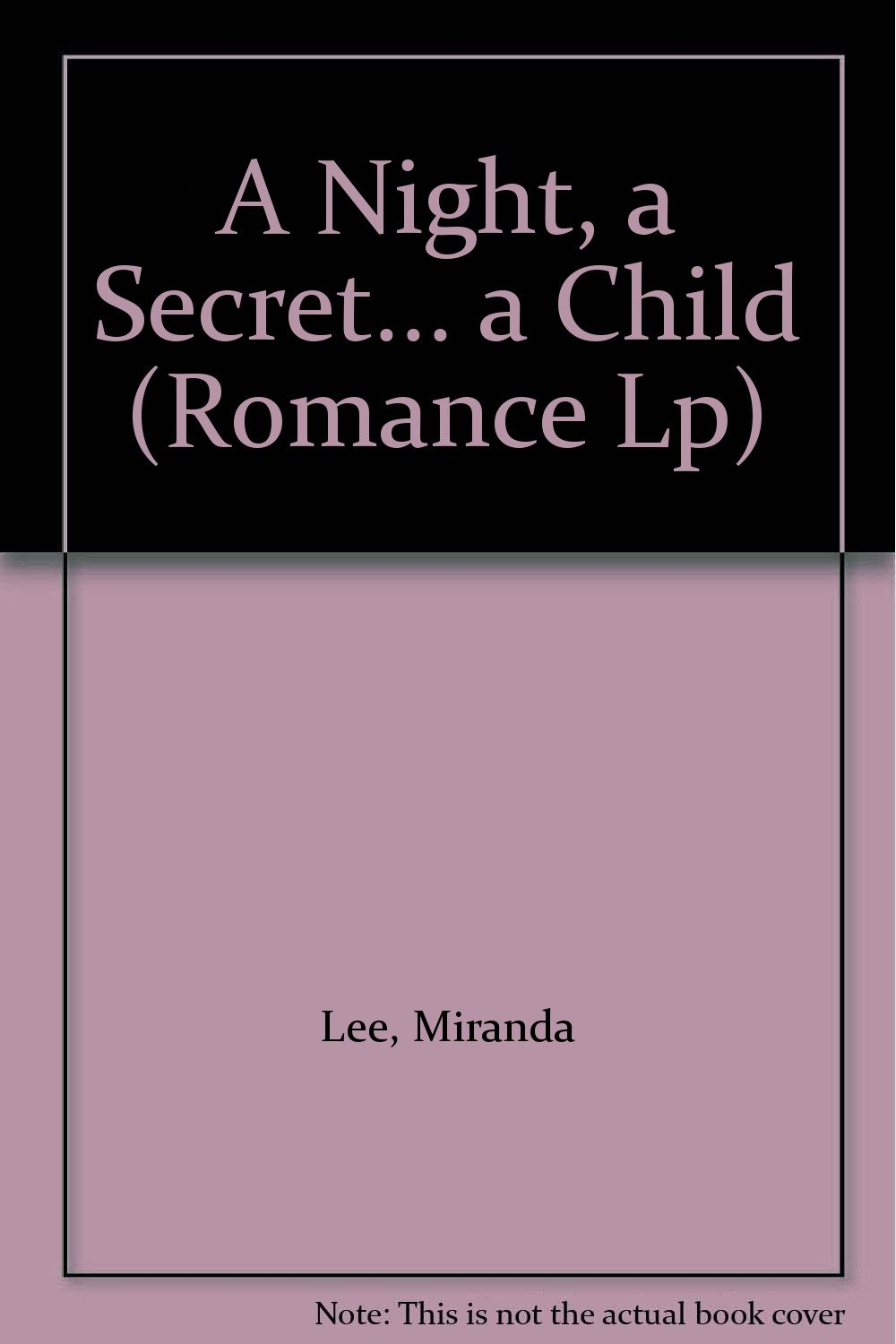 A Night, A Secret.A Child (Mills & Boon Largeprint Romance) ebook