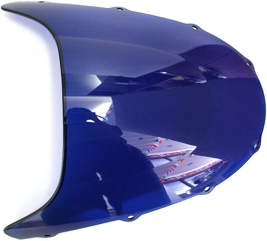 Multi Windshield WindScreen Double Bubble For Kawasaki ZX9R 1998-1999