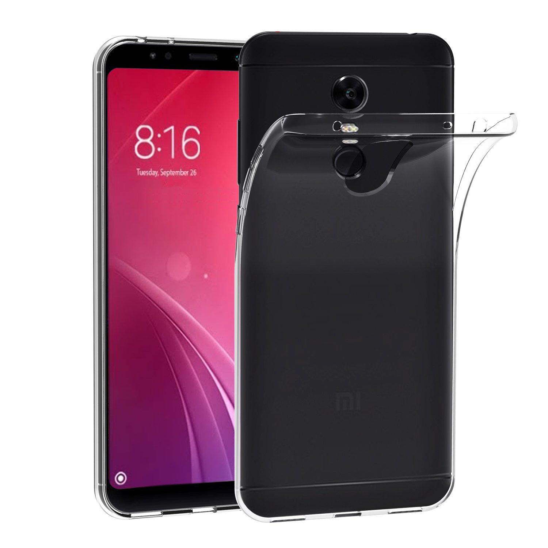 Cover Xiaomi Redmi 5 Plus, iVoler Cover Xiaomi Redmi 5 Plus Silicone Case Molle di TPU Trasparente Sottile Custodia per Xiaomi Redmi 5 Plus