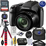 Panasonic Lumix DC-FZ80 Digital Camera + 32GB Card + Photo Accessory Bundle
