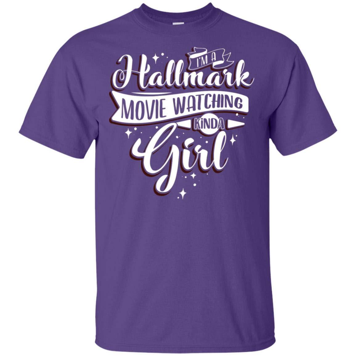 Truekool I M A Hall Mark Movie Watching Kinda Girl T Shirt Tee