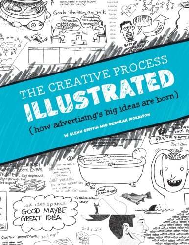 The Creative Process Illustrated: How Advertising's Big Ideas Are Born (Paperback)-cover