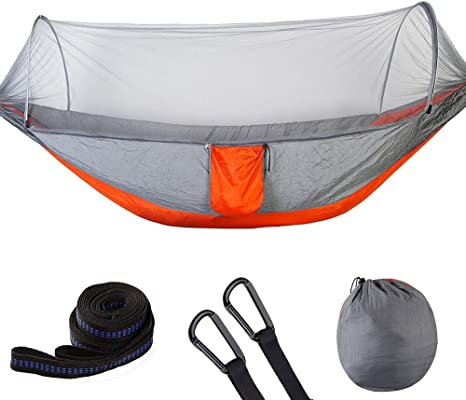 UK Double Person Travel Outdoor Camping Tent Hanging Hammock Bed Mosquito Net