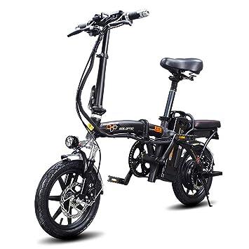 Bicycle Batería De Litio Eléctrica Plegable Ultra Ligera De La Aleación De Aluminio De La Bicicleta