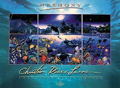 Buyartforless Harmony by Christian Riese Lassen 35x26 Foil Embossed Ocean Life Art Print Poster by Buyartforless