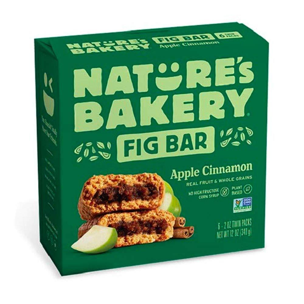 Nature's Bakery Stone Ground Whole Wheat Apple Cinnamon Fig Bars, 6 ct