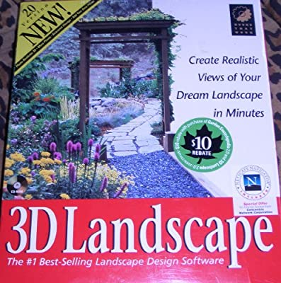 3D Landscape: The #1 Best-Selling Landscape Design Software