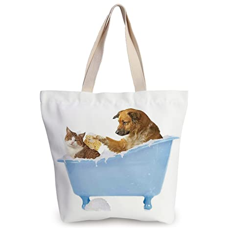 c36a60a8df2f Amazon.com  iPrint Cool Canvas Tote Bag