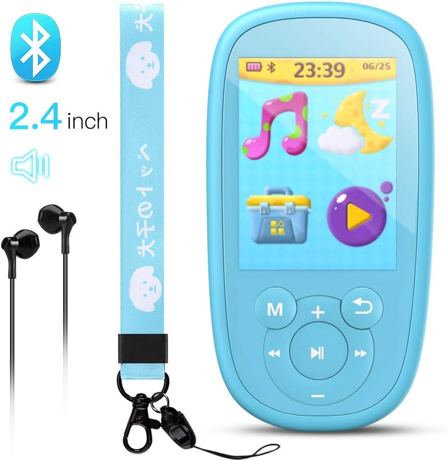 AGPTEK Bluetooth MP3 Player for Kids
