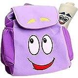 Dora Explorer Backpack Dora Bag,12.5inch Dora Explorer Rescue Bag with Map