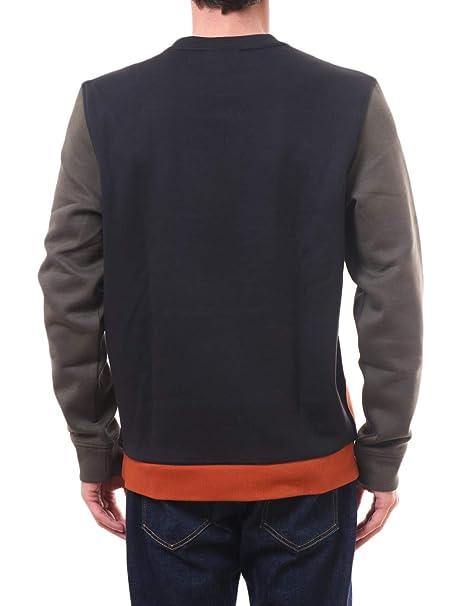 25e1064ec25d5 Lacoste Mens Sweatshirt SH1902-00 Nevada Orange Meridian BL M  Amazon.ca   Clothing   Accessories