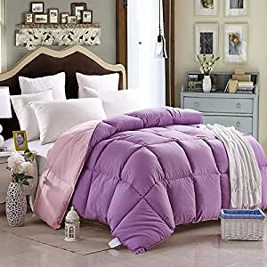purple and pink comforter teen comforter kids comforter down alternative comforter full size. Black Bedroom Furniture Sets. Home Design Ideas