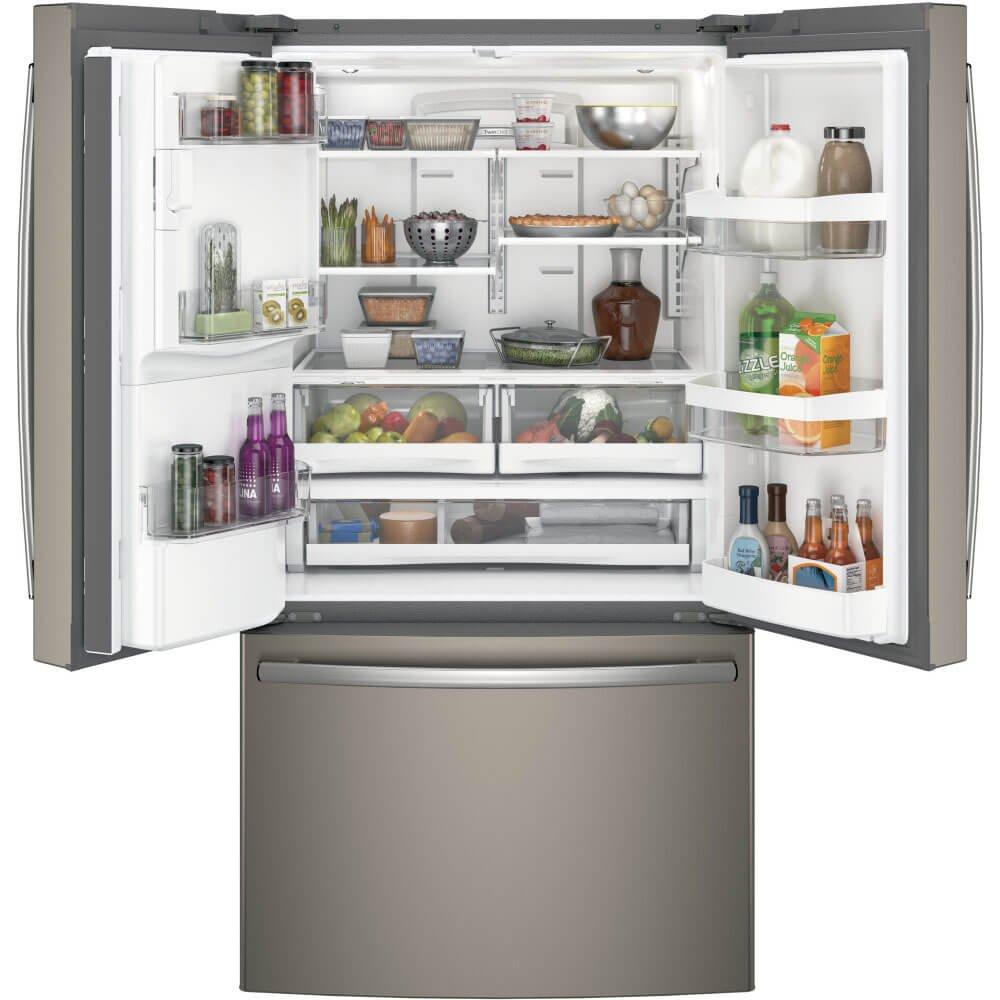 Amazon ge gfe26gmkes 258 cu ft slate french door ft slate french door refrigerator energy star appliances rubansaba