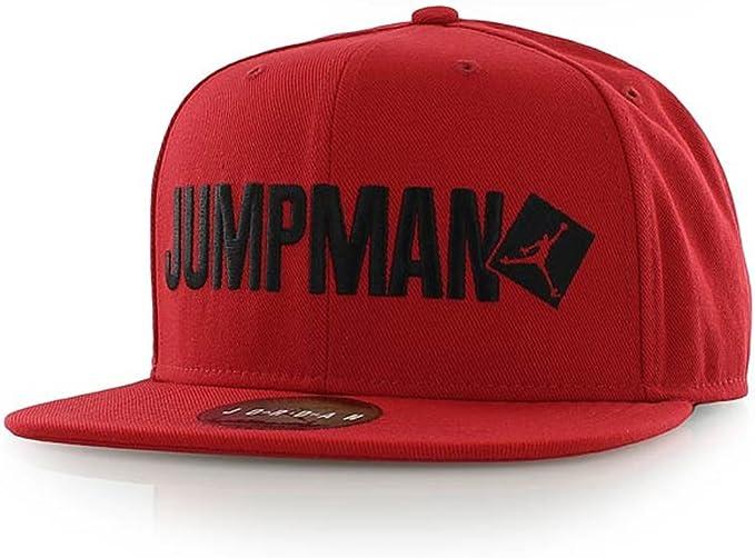 Gorra Jordan – Jumpman Snapback rojo/negro talla: OSFA (Talla ...