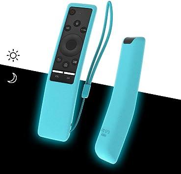 SIKAI - Carcasa de Silicona para Samsung BN59-01241A BN59-01242A BN59-01266A a Prueba de Golpes para Samsung QLED TV BN59 Series Remote Anti-Lost con Remote Loop: Amazon.es: Electrónica