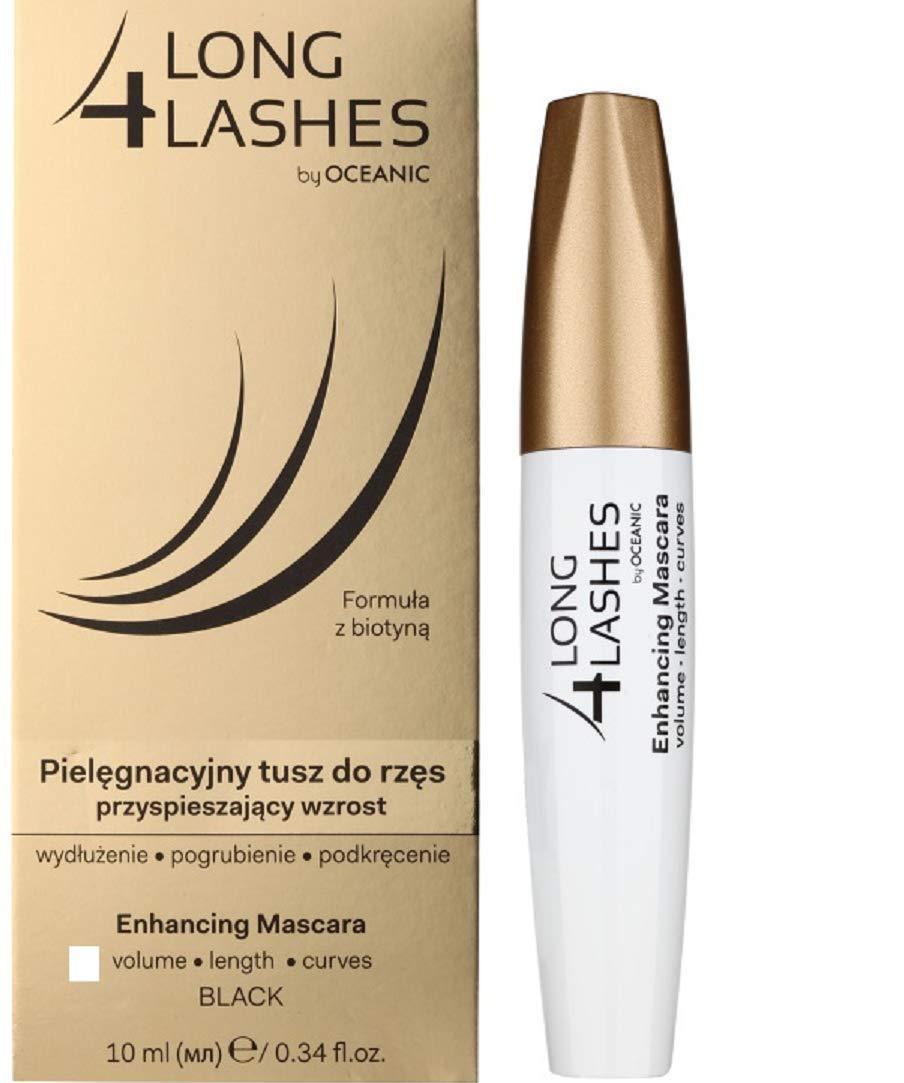 Amazon Long 4 Lashes Eyelash Growth Enhancing Black Mascara