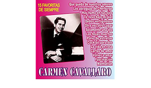 Los Paraguas de Cherburgo by Carmen Cavallaro on Amazon Music - Amazon.com