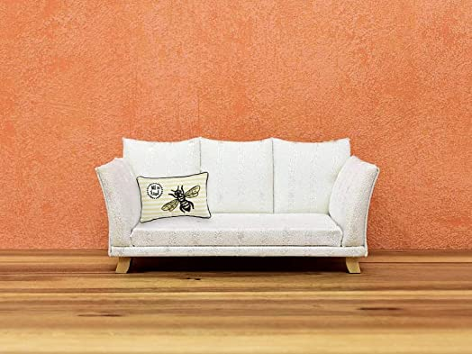 Comfy Hour Spring Bee Kind Accent Pillow Throw Pillow Decorative Cushion, 20 x13