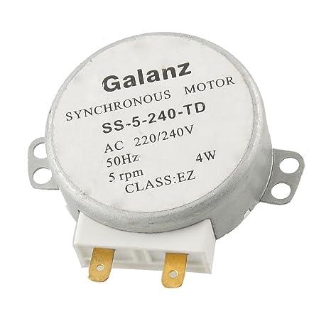 Microondas 1,4 cm eje largo 4 W AC Motor sincronizado 220 ...