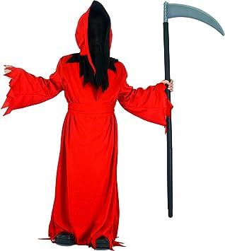 SEA HARE Disfraz de Halloween de Túnica de Demonio Rojo para Niño ...