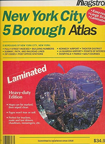 new york city laminated map - 8