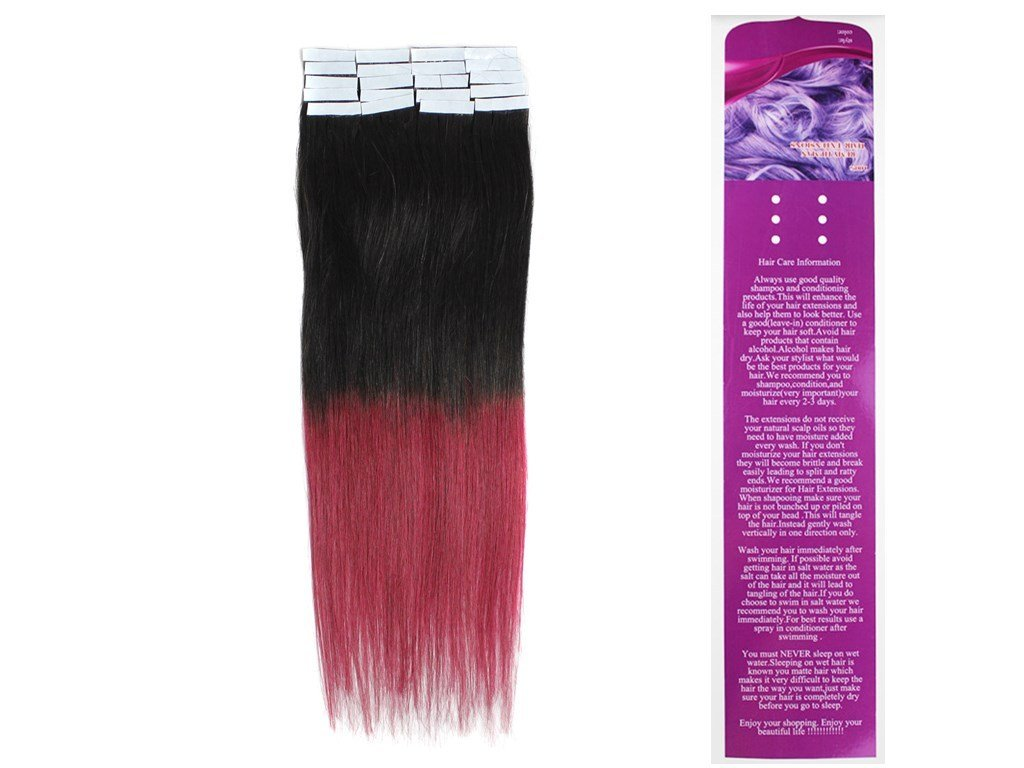 Amazon 18tape In Remy Human Hair Extensions Straight 40g