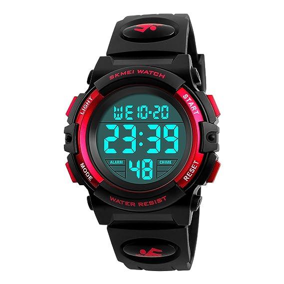 Farsler Reloj digital deportivo para niños 5bd8e6b70f4e
