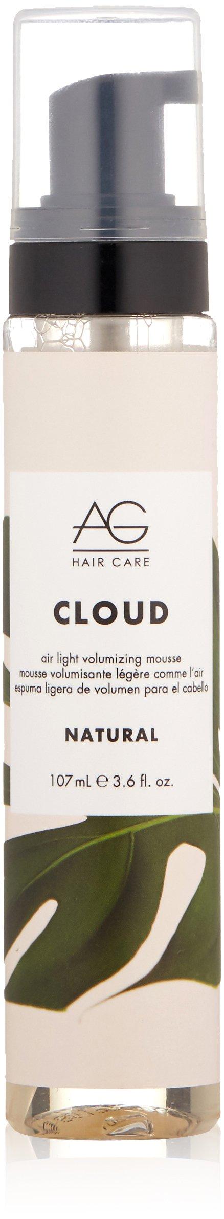 AG Hair Natural Cloud Airlight Volumizing Mousse, 3.6 Fl Oz