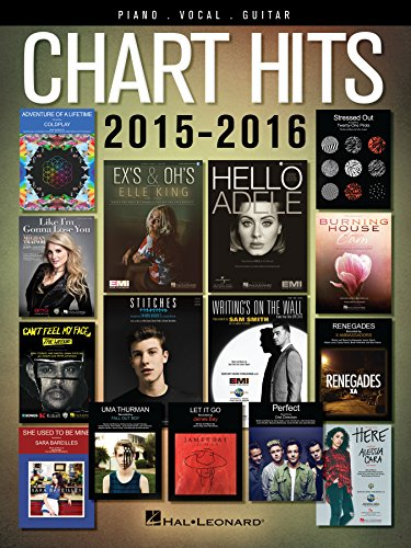 Chart Hits of 2015-2016 Songbook (Chart Hits of Piano Vocal ()