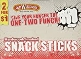 Old Wisconsin Beef Snack Sticks Counter Box, 42 Count