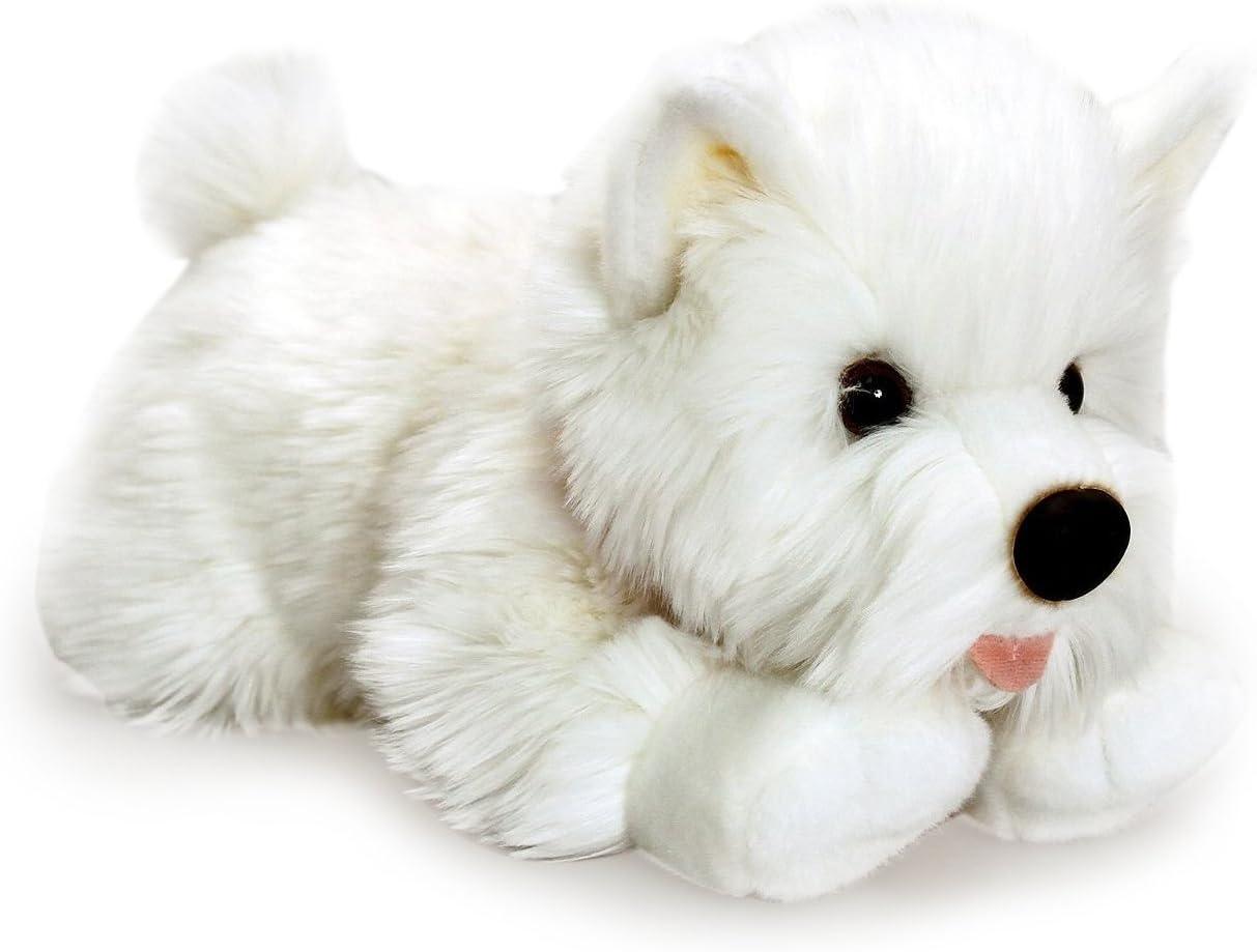 Schl/üsselbrett Tierisch-tolle Geschenke Westie West Highland White Terrier Leinengarderobe Garderobe mit Hundemotiv
